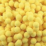 Lot de 500 mini pompons pelucheux à haute densité pour enfants, artisanat, fabrication de bijoux,...