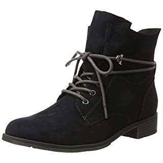 Marco Tozzi Damen 25100 Chukka Boots, Blau (Navy), 42 EU