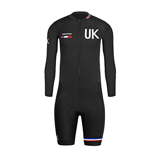 Uglyfrog #01 2018 Bike Wear Neu Lange Ärmel Herren Radsport Kurzarm Trikots & Shirts with Short Legs Cycling Skinsuit Schnelltrocknend Sport Bekleidung (Short Triathlon Comp)