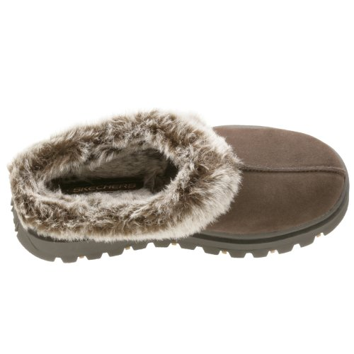 Skechers Fortress Clog Slipper Chocolat