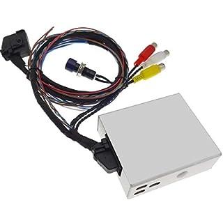 Video Adapter DVD Multimedia Interface Navigation Kabel DVD TV Free kompatibel mit VAG Seat Skoda Nexus RNS MFD2 RNS2