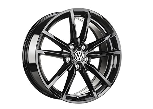 Original VW Volkswagen R-line Leichtmetall-Felge 'Pretoria' 18 Zoll schwarz