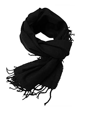 Move&Moving(TM) Fringed Edge Soft Warm Casual Knitting Scarf for Men