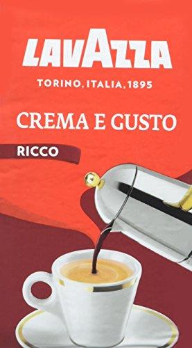 Lavazza Crema e Gusto Ricco - 10 confezioni da 250 gr [2.5kg]