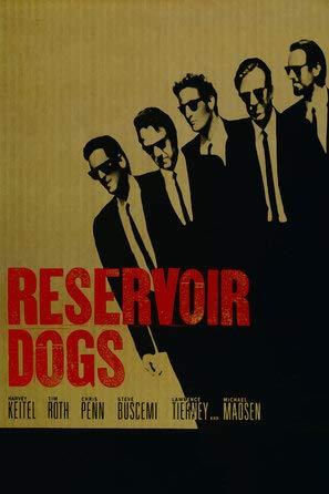 Reservoir Dogs - Quentin Tarantino - Film Poster Plakat Drucken Bild - 30.4 x 43.2cm Größe Grösse Filmplakat