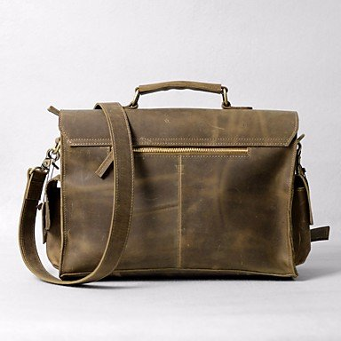 Woman-Other-Leather-Type-Canvas-Casual-Tote-Khaki-Dark-Brown-khakikhaki