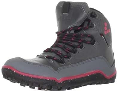 Vivo Barefoot Women's Off Road Hi Women Walking Baby Shoes grey Size: 2 UK