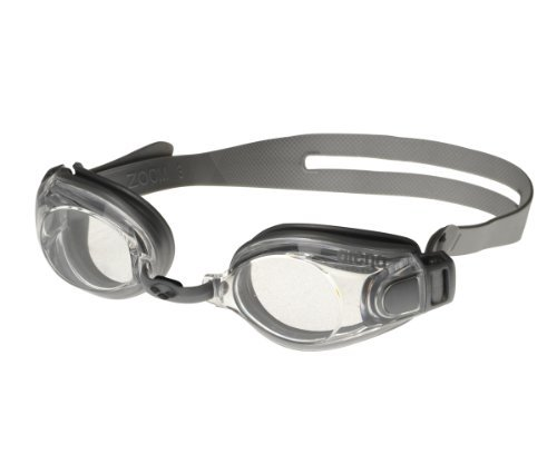 Arena Zoom X-Fit Swimming Goggles silver-clear-silver by Arena