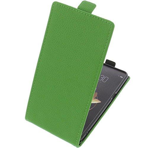 foto-kontor Tasche für Archos Diamond Gamma Smartphone Flipstyle Schutz Hülle grün