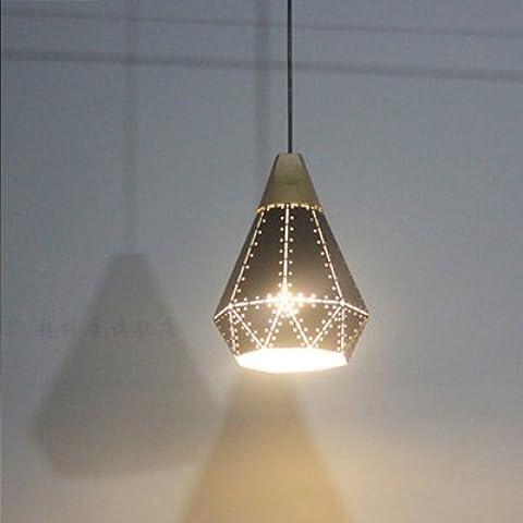 FEI&S retrò post-moderno pin-bar caffetteria ristorante chandelier lampadari neri ristorante la camera da letto in legno massiccio piccolo lampadario,B,con il migliore servizio