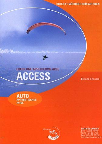 Créer une application avec Access: AUTO apprentissage avisé