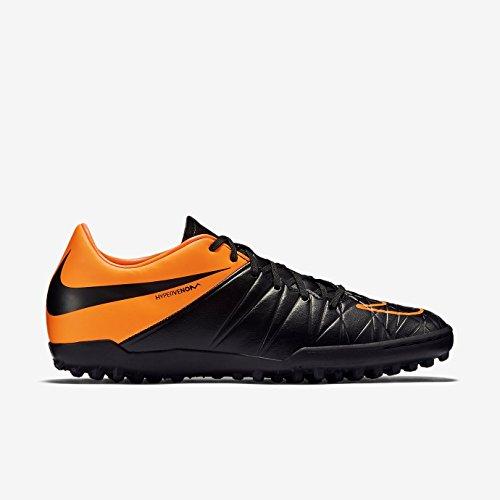 HYPERVENOM PHELON II LEATHER TF Herren Nike Mod. 807517 BLACK/BLACK-TOTAL ORANGE