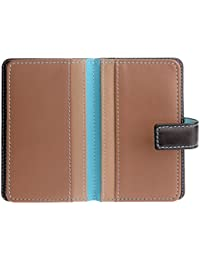 DuDu - Women's Leather Wallets - Fashionable Card Cases - Attractive Multi Color Wallet - Patmo - Color Dark Brown