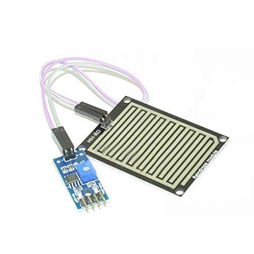 Lorjoy Nieve/Las Gotas de Lluvia Detección del Sensor de Lluvia Módulo Módulo Tiempo de Humedad para Arduino