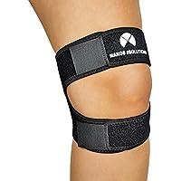 NAKOS SOLUTIONS - Sport Kniebandage, Patellabandage, Kniestütze - Universalgröße - Ideal zum Laufen - Kniebeugen... preisvergleich bei billige-tabletten.eu