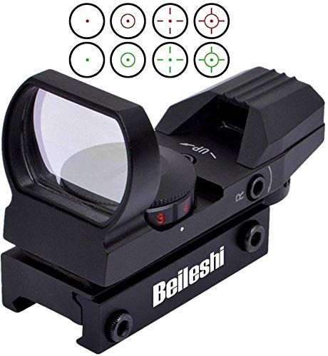 Beileshi Tactical Reflex 4 retícula Verde Red Dot Sight scope