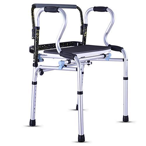 Zfggd Caminante de Edad Avanzada sin Rueda Caminante discapacitado Caña de Cuatro Patas Caminante Mayor