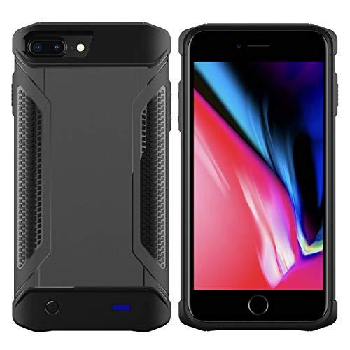 Banath Batteriefach für iPhone 6 6s 7 8 4000mAh Battery Charger, Wiederaufladbares Schutzfach für iPhone 6 6s 7 8 4000mAh Battery Charger Bank Power Pack - Grey