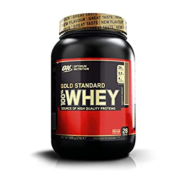 Optimum Nutrition Gold Standard Whey Protein Powder with Glutamine and Amino Acids Protein Shake by ON