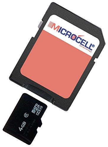 4GB Speicherkarte / 4gb Micro SD Karte für Denver ACG-8050W ()