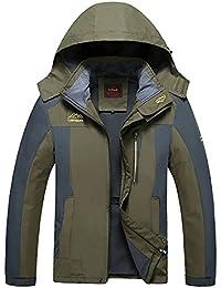 Giacche Neve Verde impermeabili Abbigliamento Amazon e it pioggia wqfAE7
