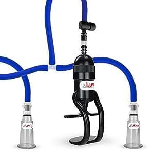 LeLuv EasyOp Z Grip Nipple Pump Vacuum Kit Suction Device, Medium by LeLuv