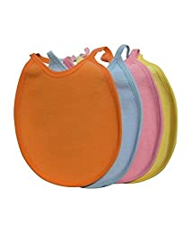 Baby Station Doori Bib (Pack Of 4)