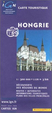 Carte routière : Hongrie