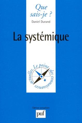 La Systémique, 8e édition