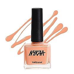 Nykaa Pastel Nail Enamel - Peach Souffle (Shade No.12) (9 ml)