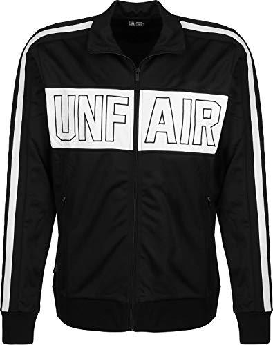 Unfair Athletics Unfair Trainingsjacke Herren schwarz/weiß, M