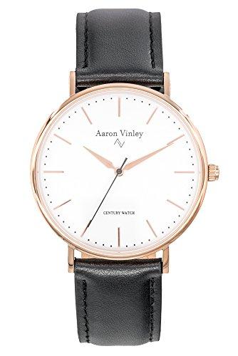 Aaron Vinley Uhr | Bergen Serie - Weiß | Kratzfestes Saphirglas |...