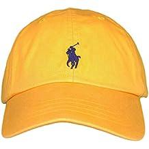 Gorra Curva POLO RALPH LAUREN Amarillo Mostaza Unica Amarillo