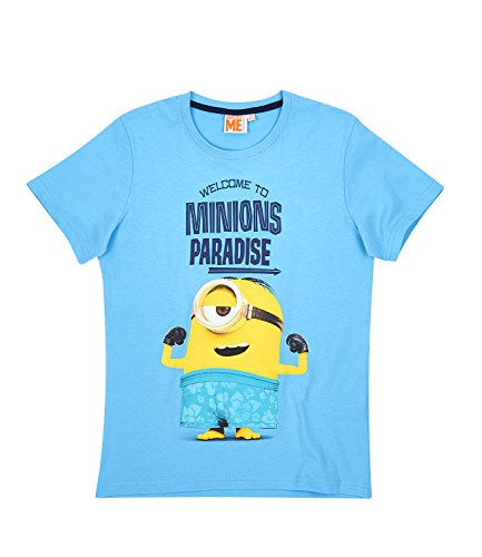 Minions Despicable Me Jungen T-Shirt - blau - 128