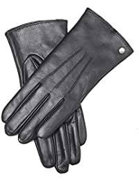 YISEVEN Damen Lederhandschuhe Gefüttert Touchscreen - Wollfutter