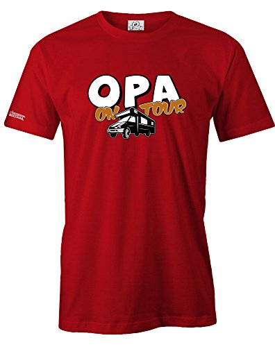 OPA ON TOUR - HERREN - T-SHIRT by Jayess Rot
