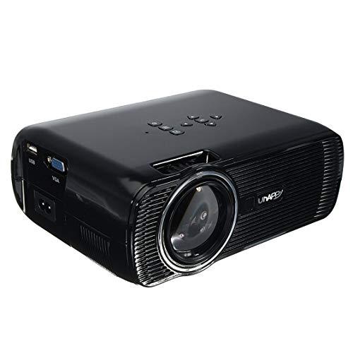 Proiettore digitale u80 7000 lm proiettore led portatile hd 1080p mini multimedia home theater cinema ue stati uniti regno unito au plug