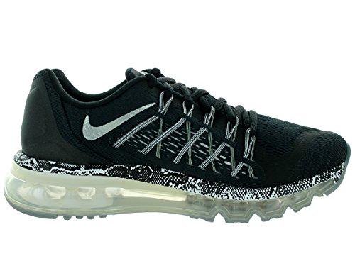 Nike Schuhe Air Max 2015 (GS) Unisex BLACK/MTLLC SLVR-CL GRY-WHITE