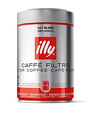 illy Filter Coffee Ground Coffee Medium Roast