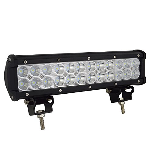 Auxtings 30,5 cm 72 W LED Barre de lampe de travail Flood spot Off Road Camion SUV 4 WD Conduite Feux de Brouillard