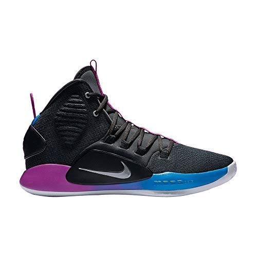Nike Herren Hyperdunk X Basketballschuhe, Mehrfarbig Cool Grey/Team Red 002, 48 EU