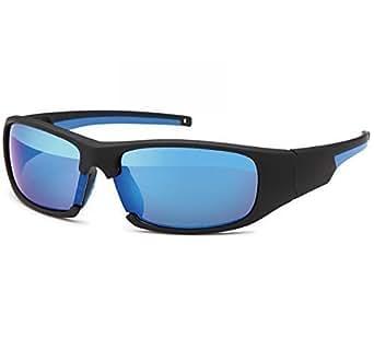 Sonnenbrille Sportbrille Rad Brille Bikerbrille New Wayfarer Sonnenbrillen 20253, Model:Blau
