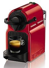 Idea Regalo - Nespresso Inissia XN1005 Macchina per Caffè Espresso, Ruby Red