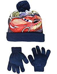 Disney Cars Lmq, Ensemble Bonnet, Écharpe et Gant Garçon