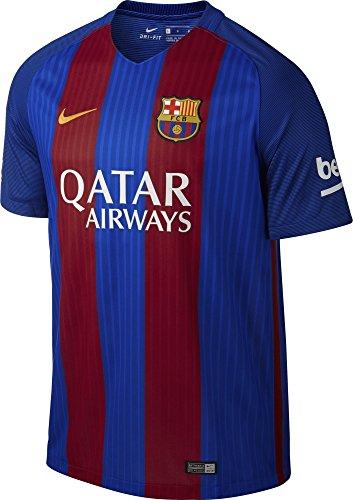 "Nike Herren Fcb M SS HM Stadium Jsy Fußball Fc Barcelona Trikot, Blau/Rot, XL 46-48"" Chest (112-124cm)"