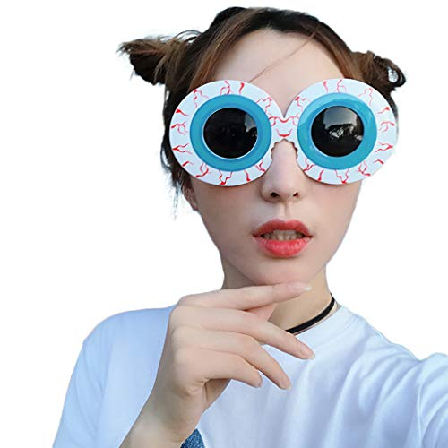 Neuheit Fancy Dress Kostüm - Liqiqi Erwachsener Party Brille Festival Carnival Brille Komisch ziehen Wind Coole Brille Funny Crazy Fancy Dress Brille Neuheit Kostüm Party Sonnenbrillen Zubehör Brille (B)