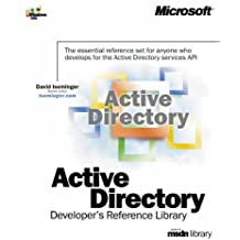 Active directory coffret Developer's Reference Library based on msdn library 5 volums : Volume 1, Programmer's guide. Volume 2, Reference. Volume 3, ... Interfaces reference. Volume 5 , Schema