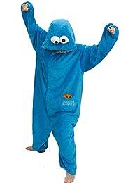 smithroad jumpsuit tier karton fasching halloween kostum sleepsuit cosplay fleece overall pyjama schlafanzug erwachsene
