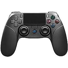 JFUNE PS4 Mando Inalámbrico para PlayStation 4, Wireless Dual Vibration Shock Game Controller Controlador de PlayStation 4 & PlayStation 3 & PC Video Games