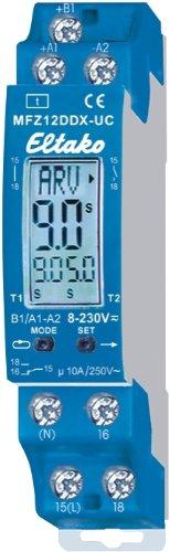 Wochen-Zeitschaltuhr Schalttafel-Einbau, 230V,